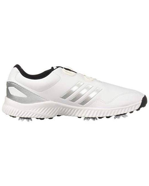 42f6ce577 ... Adidas - White S Response Bounce Boa Golf Shoe - Lyst ...