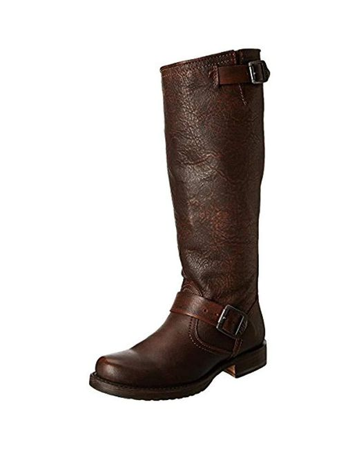 Frye - Brown Veronica Slouch Boot - Lyst