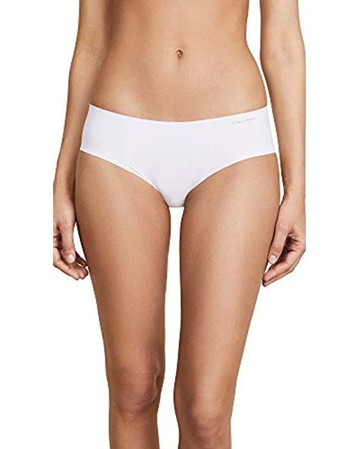 Calvin Klein - White Invisibles Hipster D3429 - Lyst