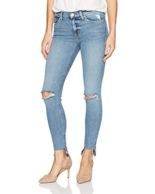 Hudson - Blue Nico Midrise Ankle Skinny With Released Hem - Lyst
