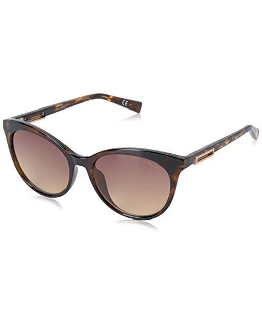 Calvin Klein - Brown R731s Cateye Sunglasses - Lyst