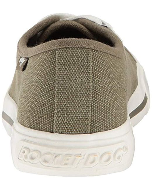 5b2a7e9d68889e ... Rocket Dog - Green Jumpin Orchard Cotton Fashion Sneaker - Lyst ...