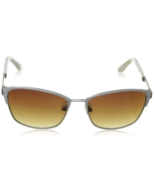 f66698349accc Lyst - BCBGMAXAZRIA Destiny Cat-eye Sunglasses in White - Save 29%