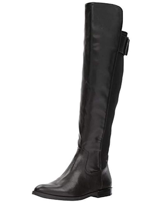 Calvin Klein - Black Priya Over The Knee Boot - Lyst