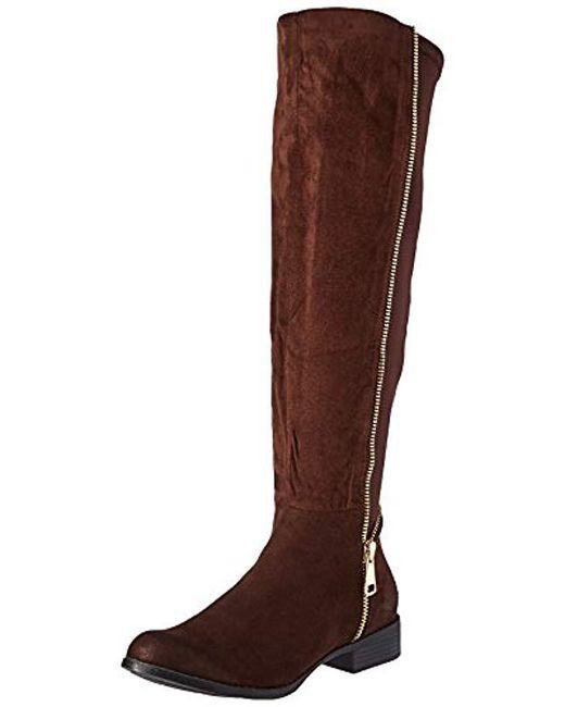 N.y.l.a. - Brown Amanjot Winter Boot - Lyst