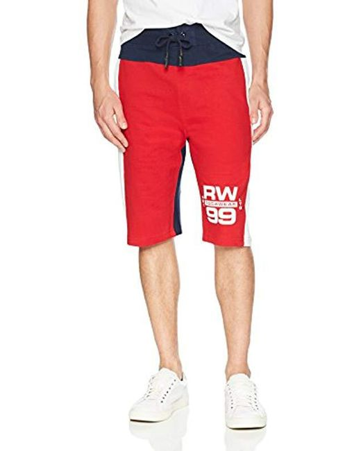 Rocawear Red Knit Shorts for men