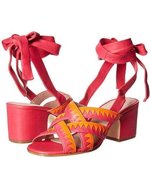 b0c85cc4aee198 ... Pour La Victoire - Multicolor Anisa Heeled Sandal - Lyst ...