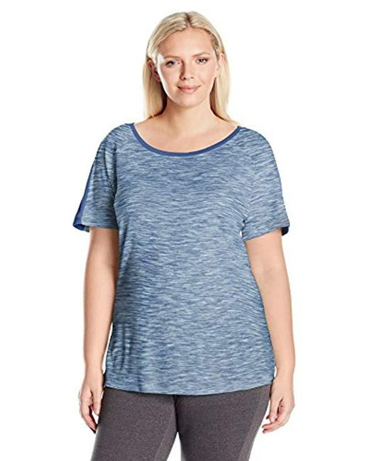Columbia - Blue Outerspaced Plus Size Short Sleeve Tee - Lyst
