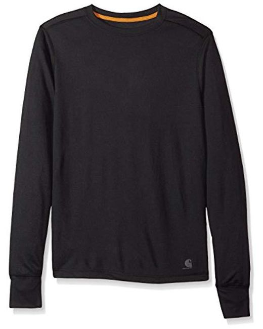 Carhartt - Black Base Force Extremes Cold Weather Crewneck Sweatshirt for Men - Lyst