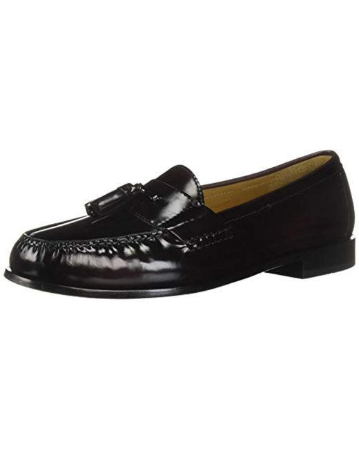 24f0ad78377 Cole Haan - Black Pinch Tassel Loafer