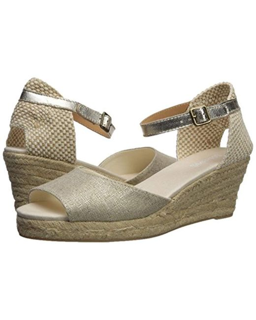 bfff9e324d3 ... Soludos - Multicolor Open-toe Midwedge 70mm - Lyst ...