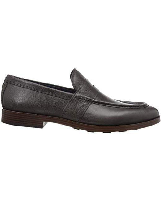 3b3ba3fffda ... Cole Haan - Black Jefferson Grand Penny Loafer for Men - Lyst ...