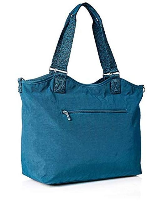 311a32e673 Kipling Griffin Tote Bag in Blue - Save 28% - Lyst