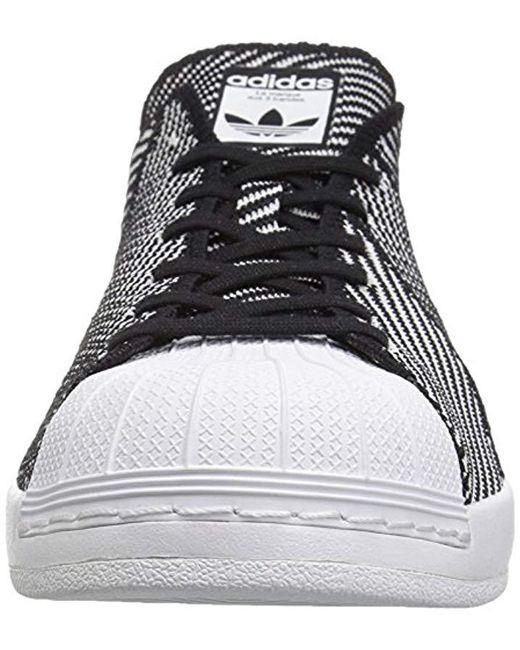 ... Adidas Originals - Black Superstar Bounce Pk Fashion Sneaker for Men -  Lyst ... f0216bbb2