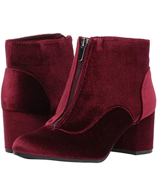 8a31d9e27cca8a Lyst - Circus by Sam Edelman Vanessa Chelsea Boot in Red - Save 73%