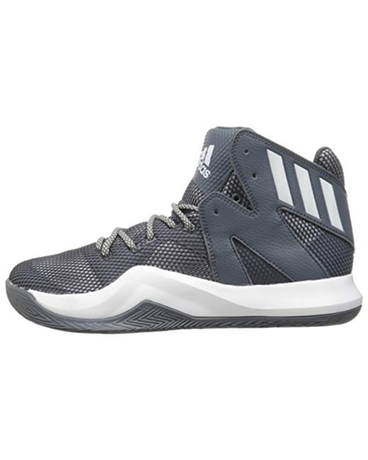 a3d5f52efdc83 ... Adidas - Gray Performance Crazy Bounce Basketball Shoe for Men - Lyst  ...
