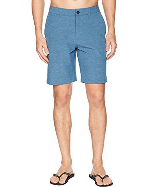 Quiksilver - Blue Union Heather Amphibian 20 for Men - Lyst