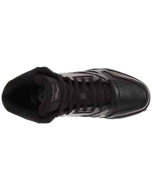 4fb133704a0d8a Lyst - Reebok Royal Bb4500 Hi Fashion Sneaker in Black for Men ...