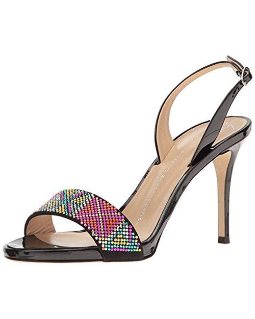 Giuseppe Zanotti - Black E70079 Dress Sandal - Lyst