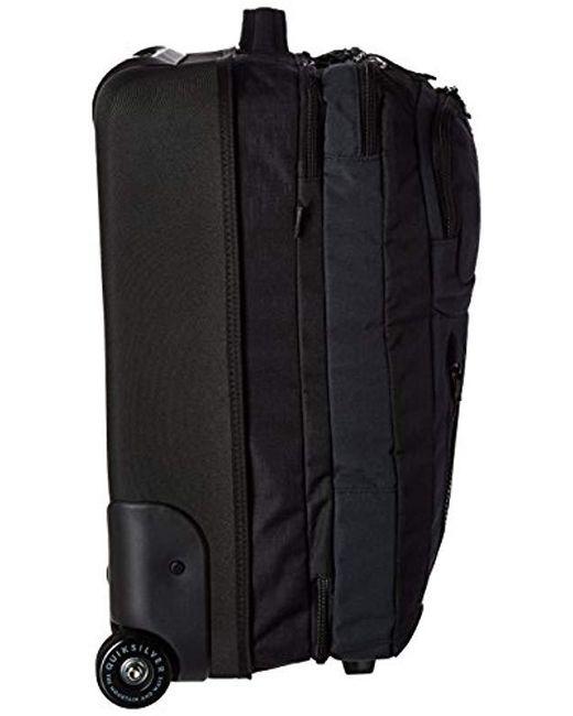 5b408728cac ... Quiksilver - Black Horizon Luggage for Men - Lyst ...