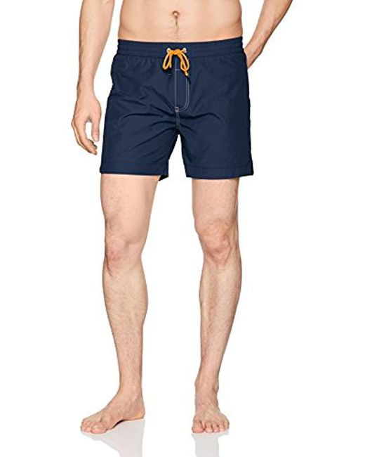 DIESEL Blue Dolphin Solid Swim Short for men