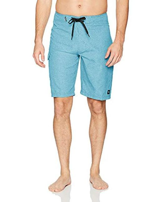 "Rip Curl - Blue Dawn Patrol 21"" Boardshorts for Men - Lyst"
