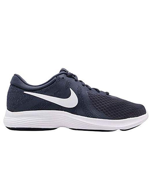 37fc5526897 Lyst - Nike Revolution 4 Running Shoe in Blue for Men - Save 42%