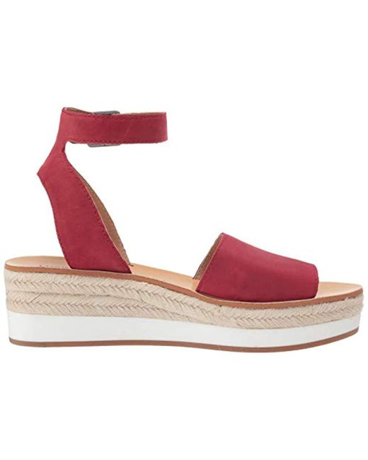 a00634cabef Lyst - Lucky Brand Joodith Espadrille Wedge Sandal