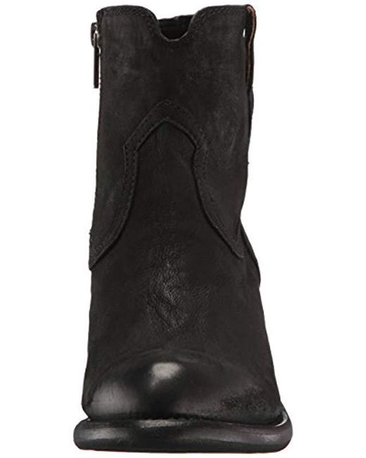 96a7fc1000f Women's Black Lillian Western Bootie Boot