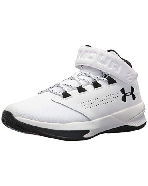 Lyst - Under Armour Ua Get B Zee Basketball Shoes in White for Men ... 0aceb30857