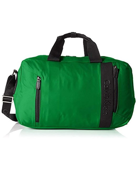 24feac6a6bfc Lyst - Calvin Klein Northport 2.0 Duffle Bag in Green for Men - Save 27%