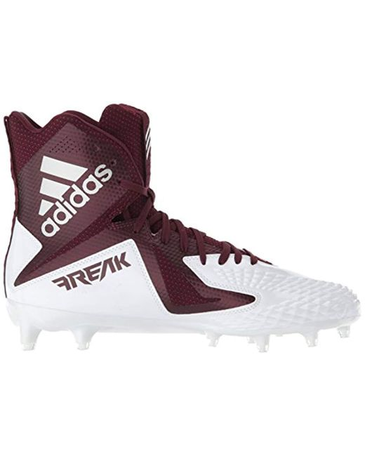 4e884ee137d ... Adidas - Multicolor Freak X Carbon Mid Football Shoe White Maroon