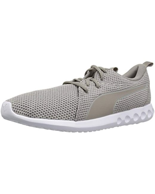 PUMA - Gray Carson 2 Nature Knit Sneaker for Men - Lyst ... 5fce42daf