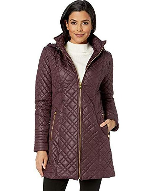 bbdbcebbf91 Via Spiga - Multicolor Center Zip Diamond Quilt - Lyst ...