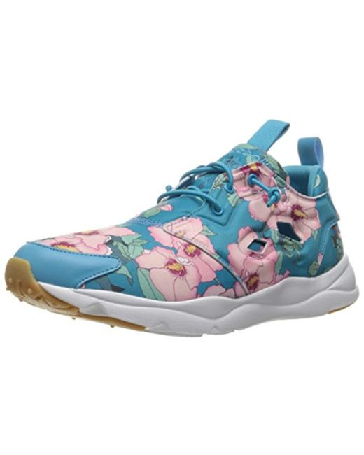 d431a8d597f1 Lyst - Reebok Furylite Fg Fashion Sneaker in Blue - Save 4%