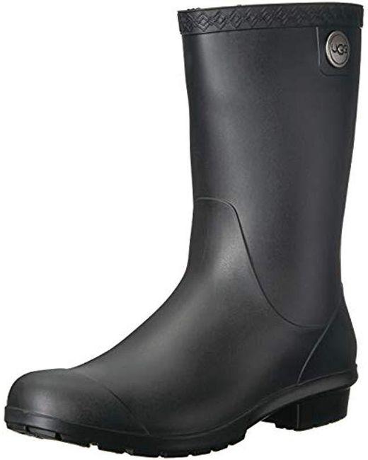 ab380e277eb Women's Black Sienna Matte Rain Boot