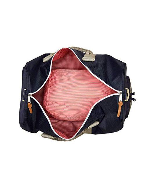 8479b90729bb ... Herschel Supply Co. - Blue Novel Duffle Bag for Men - Lyst ...
