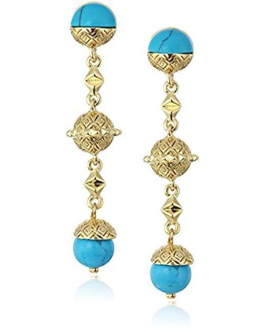 House of Harlow 1960 - Metallic Cairo Drop Earrings - Lyst