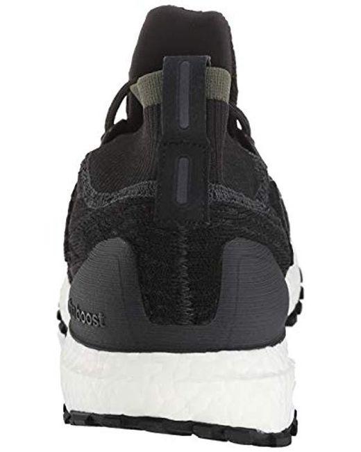 Men's Ultraboost All Terrain Running Shoe Carbonblackwhite 7.5 M Us