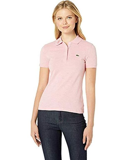 42f44379 Lacoste - Pink S/s Slim Fit Keith Haring Semi Fancy Polo - Lyst ...