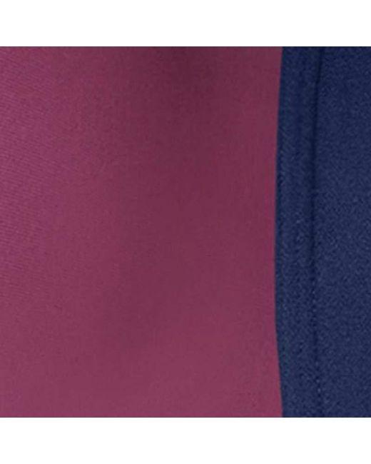 11de8331c8f5d ... Maidenform - Purple Sport Secure Zip Front Underwire Racerback - Lyst  ...
