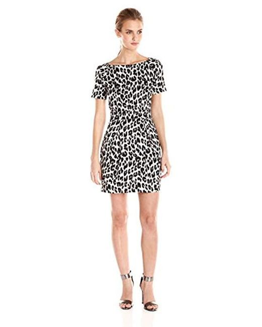 French Connection - Black Winter Simba Dress - Lyst