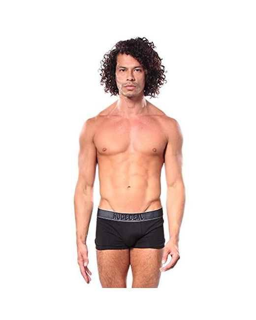 DIESEL - Black Shawn Messages In A Boxer Cotton Stretch Brief for Men - Lyst