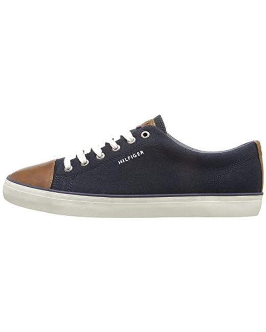 f8e0bf42a1ef2 ... Tommy Hilfiger - Blue S Parma Low Top Lace Up Fashion Sneakers for Men  - Lyst ...