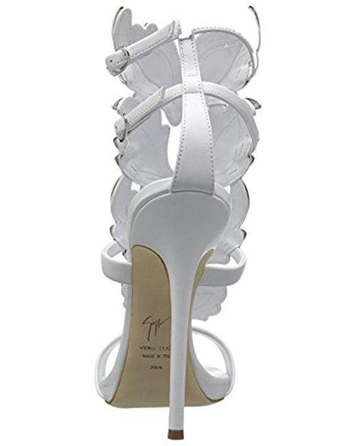 16c7eb35d10d Lyst - Giuseppe Zanotti I700011 Dress Sandal in White - Save ...
