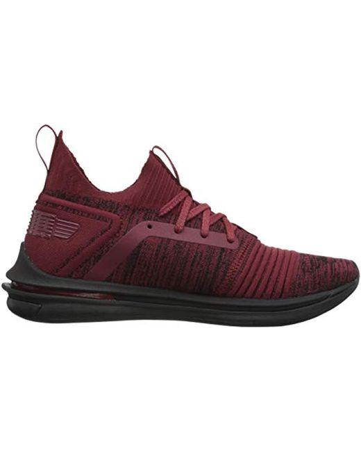 ff2a43e1c12a ... PUMA - Red Ignite Limitless Sr Evoknit Sneaker for Men - Lyst ...