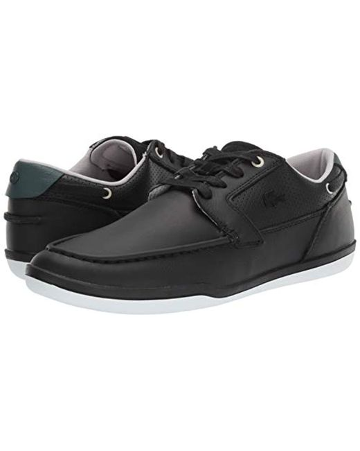 e3807afc6 ... Lacoste - Black Deck-minimal Sneaker for Men - Lyst ...