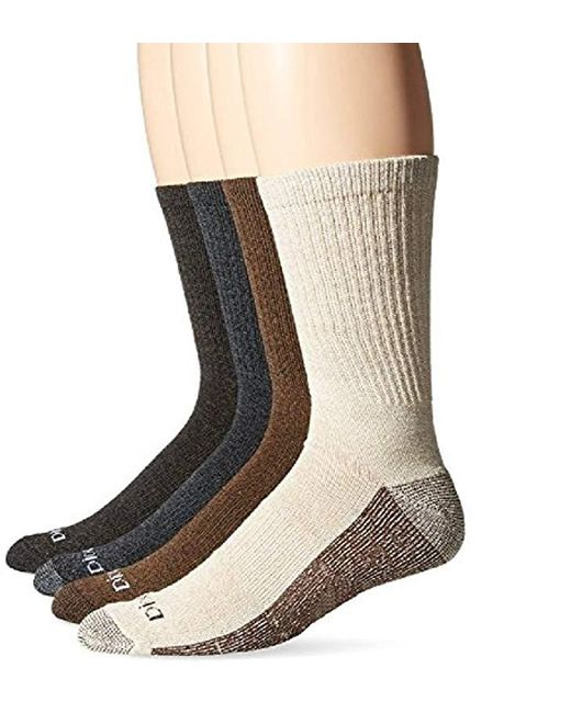 Dickies - Black Season Marled Moisture Control Crew Socks Multipack for Men - Lyst