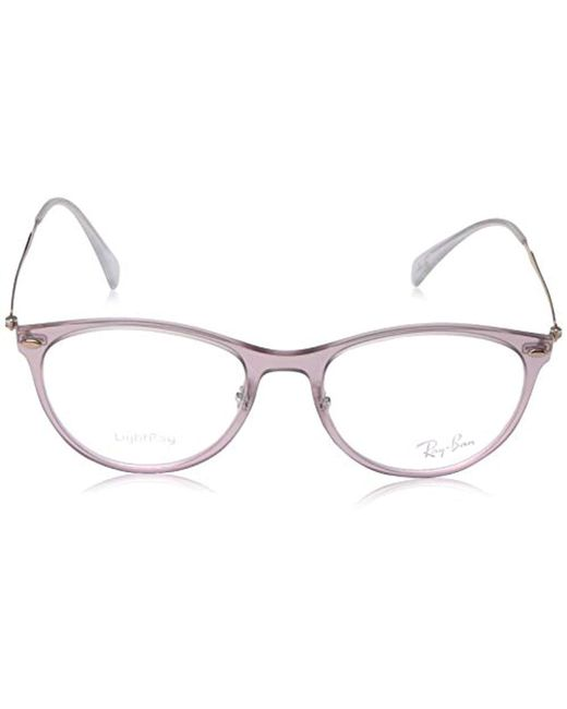 4d4851b383 ... Ray-Ban - Multicolor 0rx7160 No Polarization Square Prescription  Eyewear Frame