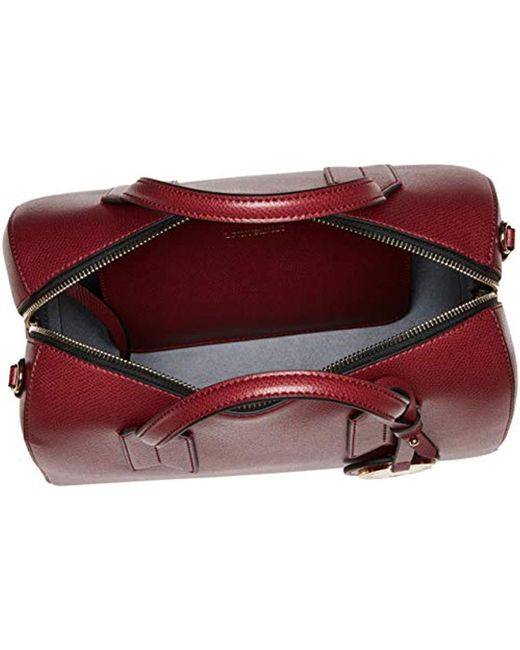 8015877bb64 ... Emporio Armani - Red Mini Satchel With Money Pouch - Lyst ...